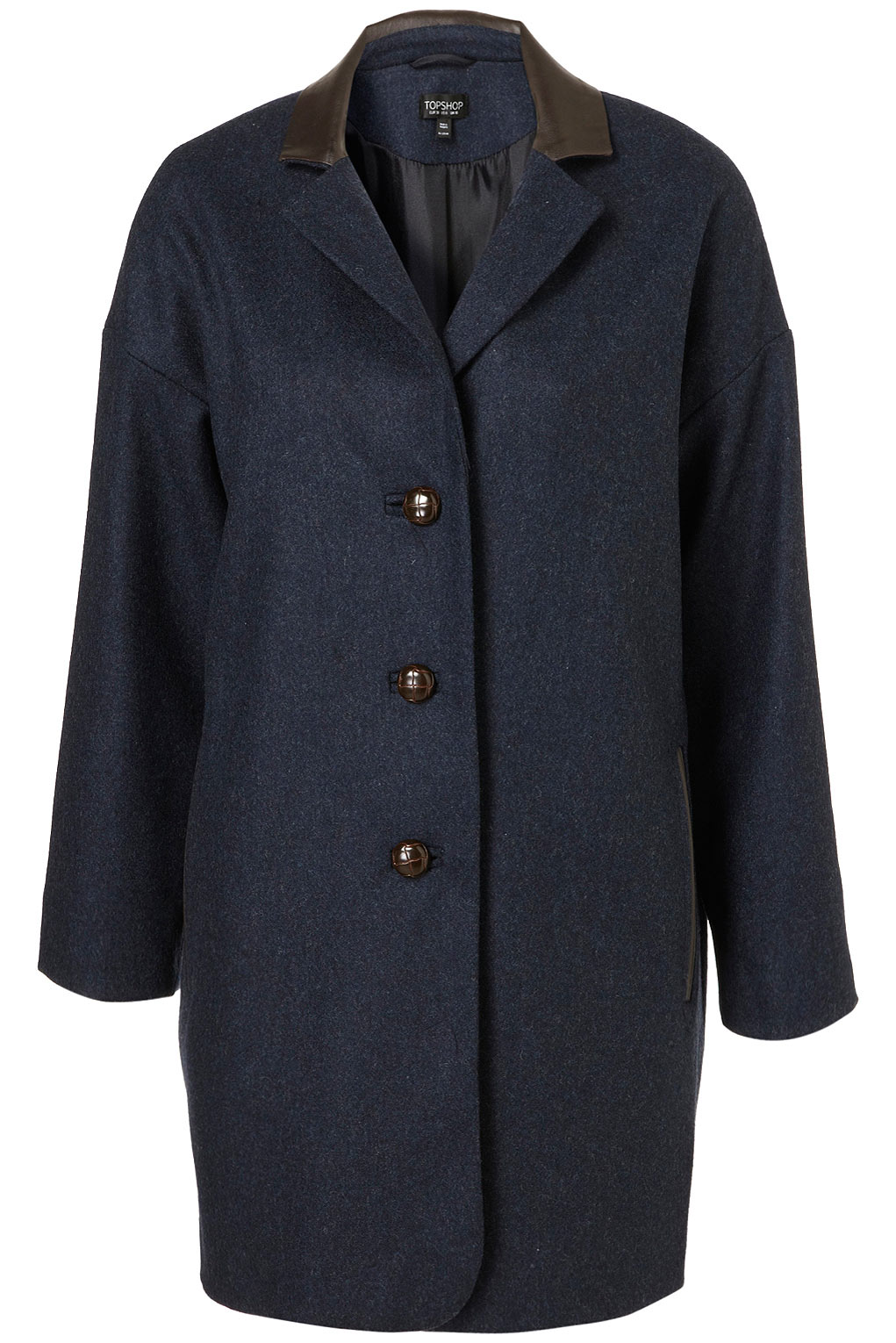 It has a casablanca blue material, long sleeves, is lined, notched collar, schoolboy style and a 2 button closure. In excellent condition. Autumn Winter Women Casual Boyfriend No Buckle Business Suit Jacket Blazer Coat.